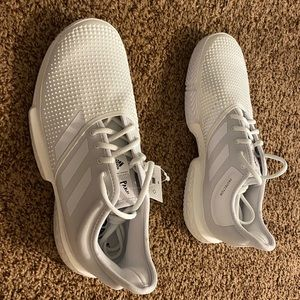 Adidas sole court boost x parley white tennis 10